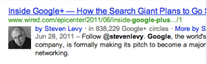 benefits of google authorship